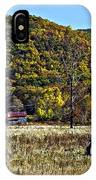 Autumn Farm Painted IPhone Case