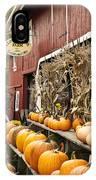 Autumn Farm Stand  IPhone Case