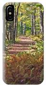 Autumn Ferns IPhone Case