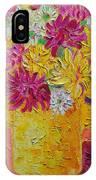 Autumn Flowers 4 IPhone Case
