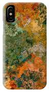 Autumn Forest Tree Tops Abstract IPhone Case