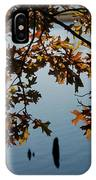 Autumn Gold On The Water IPhone Case