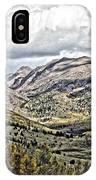 Autumn Hills IPhone Case