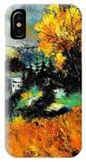 Autumn In Ardennes 672101 IPhone Case