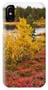 Autumn In Inari IPhone Case