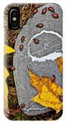 Autumn Ladybugs IPhone Case