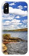 Autumn Lake Shore IPhone Case