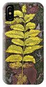 Autumn Leaf Art I IPhone Case