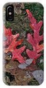 Autumn Leaf Art IIi IPhone Case