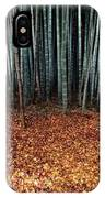Autumn Leaves Litter The Ground IPhone Case