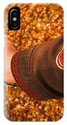 Autumn Leaves Times Two IPhone Case