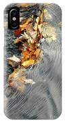 Autumn Leaves Tiny Dam IPhone Case