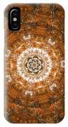 Autumn Mandala 3 IPhone Case