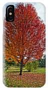 Autumn Maple Emphasized IPhone Case