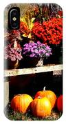 Autumn Market IPhone Case
