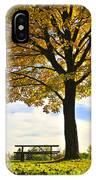 Autumn Park IPhone Case