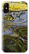 Autumn Patterns In Small Waterfall IPhone Case