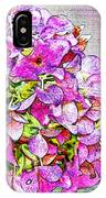 Autumn Purple II IPhone Case