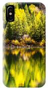 Autumn Reflection In Georgetown Lake Colorado IPhone Case