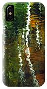 Autumn Reflections 1 IPhone Case