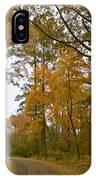 Autumn Road Colors IPhone Case