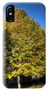 Autumn Row IPhone Case