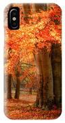 autumn skirt I IPhone Case