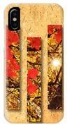 Autumn Sunrise Painterly Abstract IPhone Case