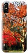 Autumn Sycamore Tree IPhone Case