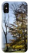 Autumn Tree In Backlight IPhone Case