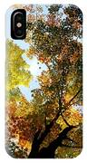Autumn Trees Low-angle IPhone Case