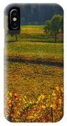 Autumn Vineyards IPhone Case