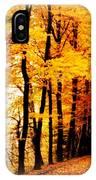 Autumn Walk In Belgium IPhone Case