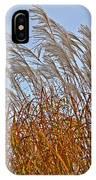 Autumn Wind Through The Grass IPhone Case