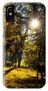 Autumnal Morning IPhone Case