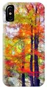 Autumnal Rainbow IPhone Case