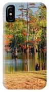 Autumn's Beauty And Reflection IPhone Case