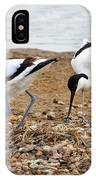 Avocets At Nest IPhone Case