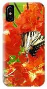Azalea And Butterfly 1 IPhone Case