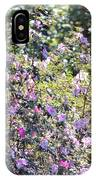 Azaleas In The Forest IPhone Case
