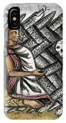 Aztec: Life And Death IPhone Case