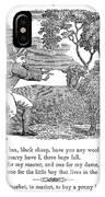 Baa, Baa, Black Sheep, 1833 IPhone Case