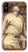 Babe Ruth The Bambino  IPhone Case