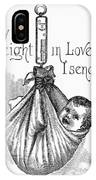 Baby Being Weighed, 1887 IPhone Case