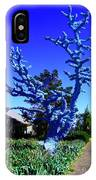 Baby Blue Tree IPhone Case