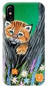 Baby Lynx IPhone Case