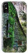 Back To Nature - Crumbling Barn IPhone Case