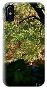 Backlit Autumn IPhone Case