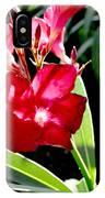 Backyard Red Beauty IPhone Case