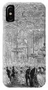 Baden-baden: Salon, 1858 IPhone Case
